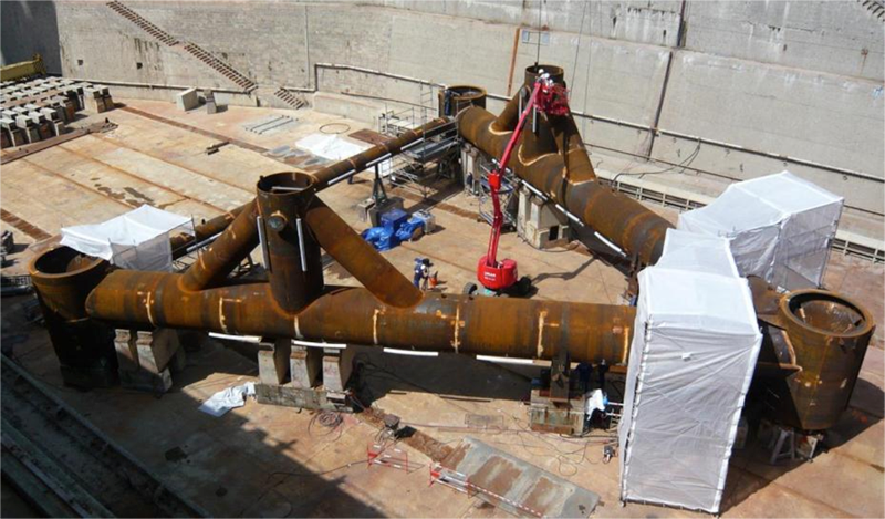 Turbine Foundation Fabrication